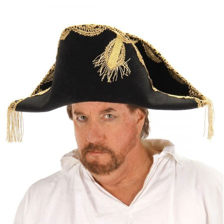Disney Pirates of the Caribbean Barbossa Bicorn Hat