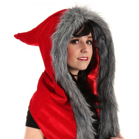 Red Riding Velvet Hood
