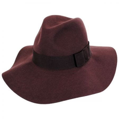 Piper Wool Felt Floppy Fedora Hat alternate view 11