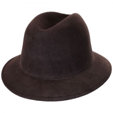 Brixton Hats Malone Wool Felt Trilby Fedora Hat