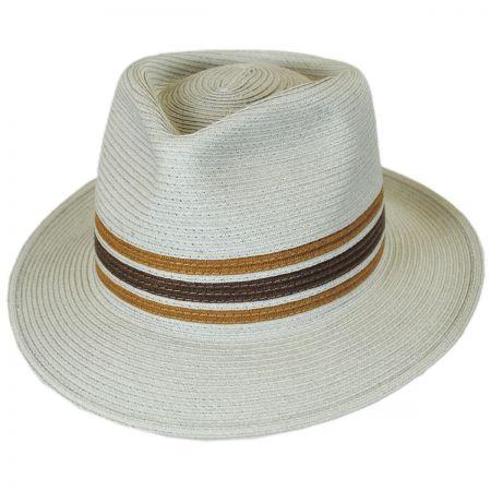 Brixton Hats Whittaker Toyo Straw Fedora Hat 8eb8a9dbb854