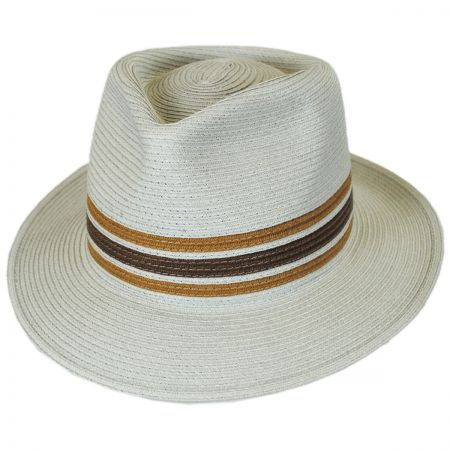 Brixton Hats Whittaker Toyo Straw Fedora Hat