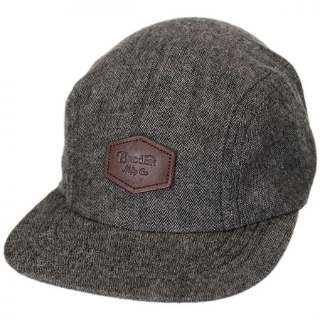 Brixton Hats Trig Herringbone 2-Panel Strapback Baseball Cap