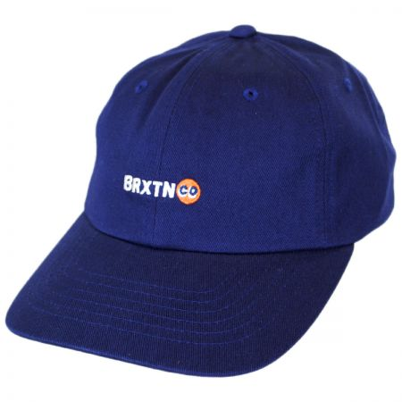 Brixton Hats Baldwin Cotton Strapback Baseball Cap