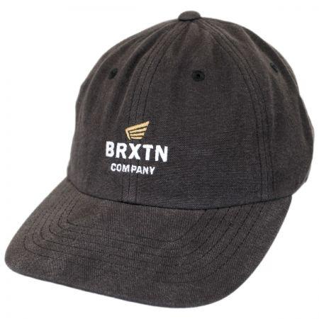 Brixton Hats Peabody Cotton Strapback Baseball Cap