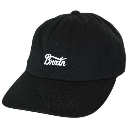 Brixton Hats Potrero Cotton Strapback Baseball Cap