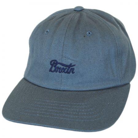 Brixton Hats Potrero Cotton Strapback Baseball Cap Dad Hat