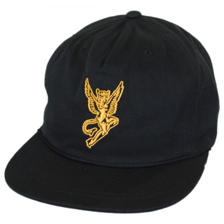 Brixton Hats Temptress 5-Panel Snapback Baseball Cap