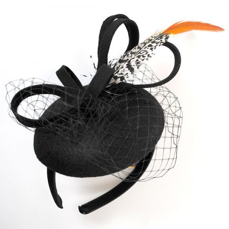 Scala Feather Ultrafelt Fascinator Headband