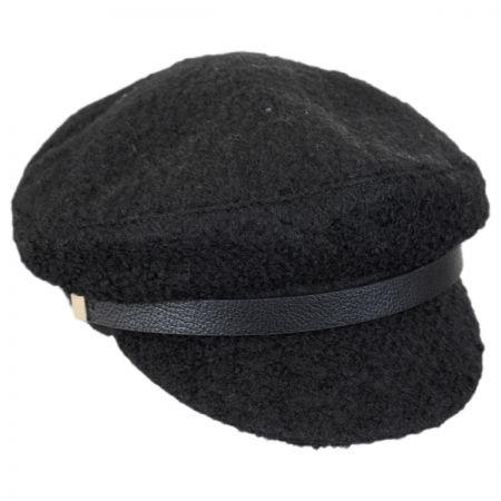 Scala Fuzzy Wool Blend Fisherman's Cap