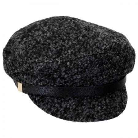 Scala Fuzzy Wool Blend Fisherman's Cap