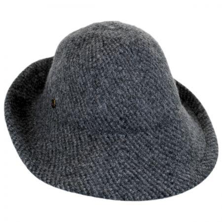 Karen Kane Boiled Wool Floppy Hat 08600188f85