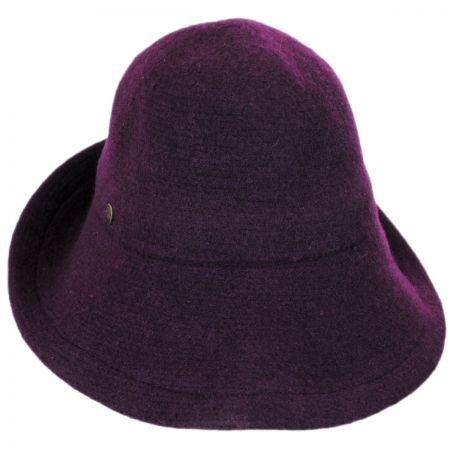 Karen Kane Boiled Wool Floppy Hat