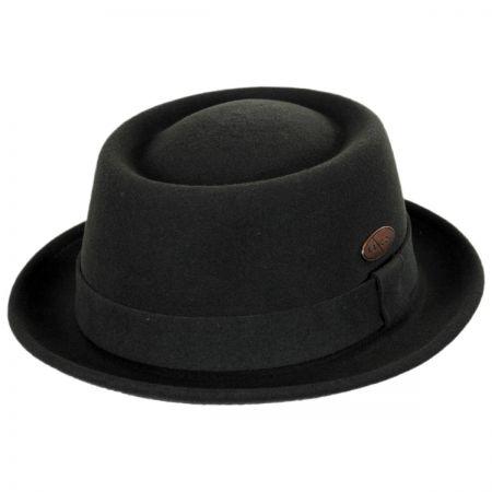 Wool LiteFelt Pork Pie Hat
