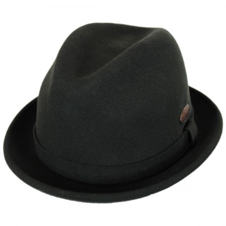 Wool LiteFelt Player Fedora Hat alternate view 45