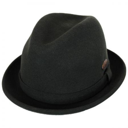 Wool LiteFelt Player Fedora Hat alternate view 49