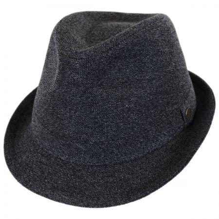 Pre-Snap Wool Blend Trilby Fedora Hat alternate view 1