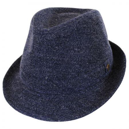 Karen Kane Pre-Snap Wool Blend Trilby Fedora Hat