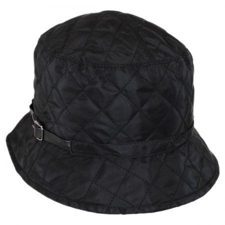Karen Kane Quilted Rain Bucket Hat