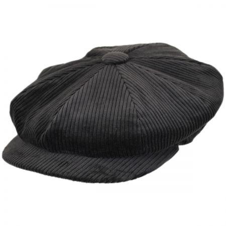 City Sport Caps Wide Wale Corduroy Newsboy Cap