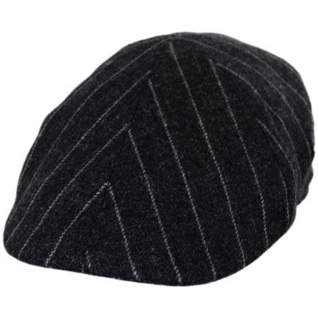 City Sport Caps Pinstripe British Wool Duckbill Ivy Cap