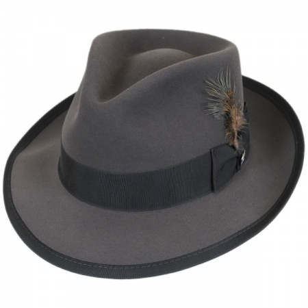 Whippet Fur Felt Fedora Hat alternate view 153