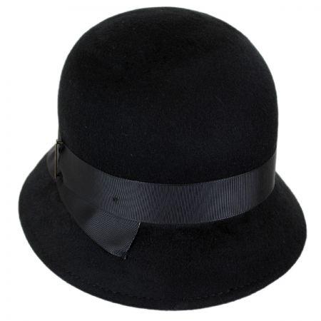 5e72fac91e05f Black Cloche Hats at Village Hat Shop