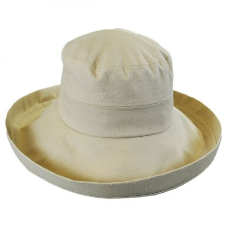 B2B sur la tete Lily Linen Sun Hat