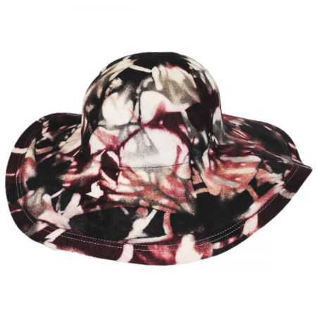 Amines Wool Felt Floppy Hat alternate view 1