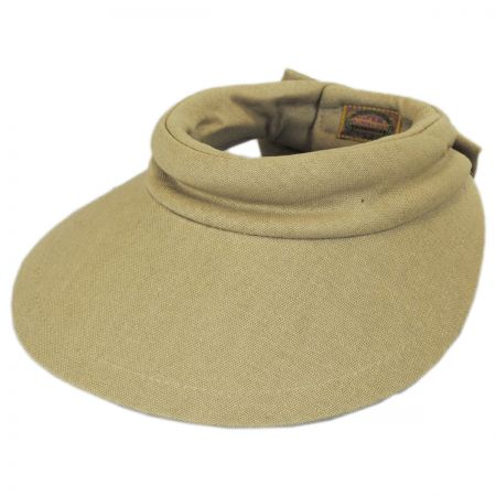 Backbow Cotton Visor alternate view 9