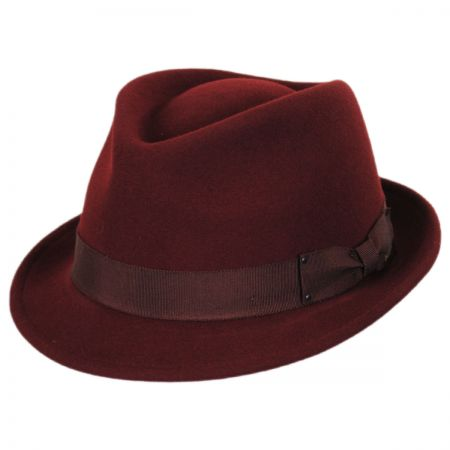 Wynn Wool Felt Fedora Hat alternate view 13