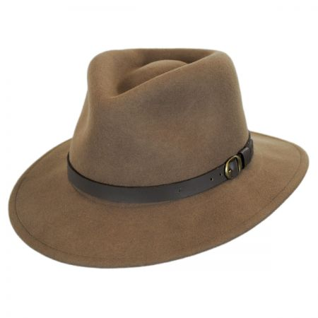 Briar Wool Felt Fedora Hat alternate view 9