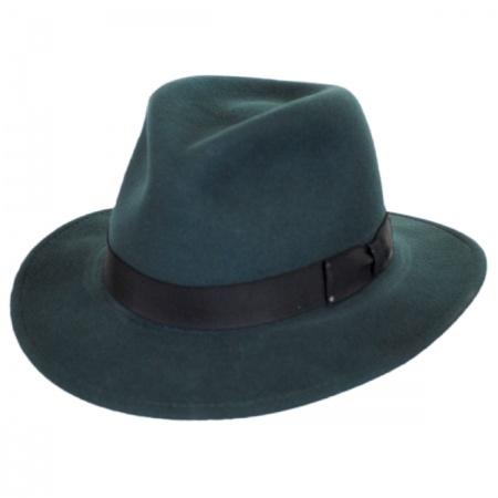 Curtis Wool Felt Safari Fedora Hat alternate view 38