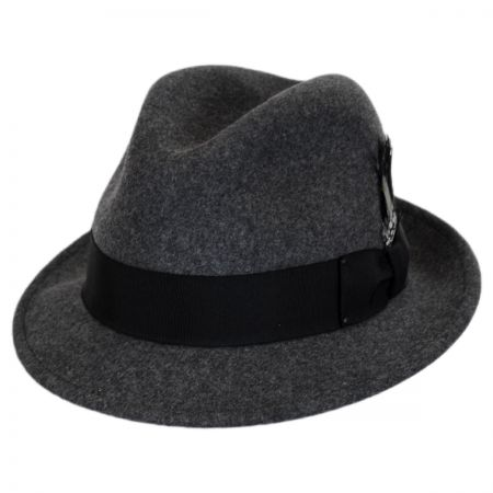 Tino Wool Felt Trilby Fedora Hat alternate view 9