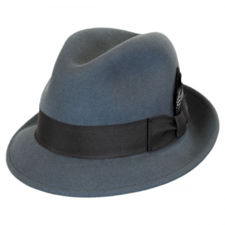 Tino Wool Felt Trilby Fedora Hat alternate view 10