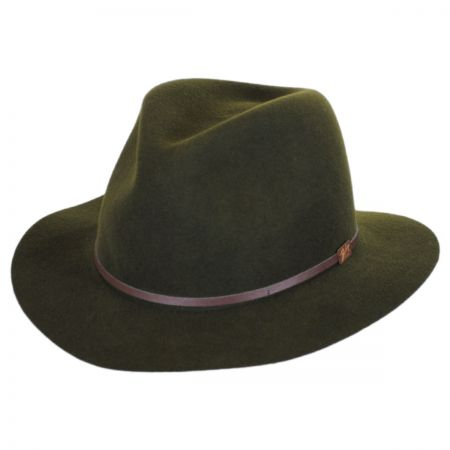 Jackman Packable Wool LiteFelt Fedora Hat alternate view 62