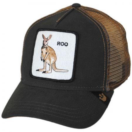 Goorin Bros Roo Mesh Trucker Snapback Baseball Cap