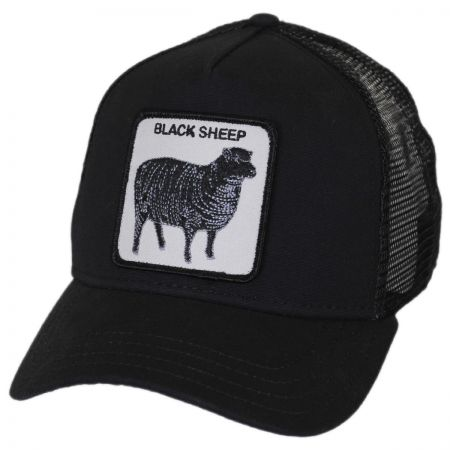 Goorin Bros - Black Sheep Mesh Trucker Snapback Baseball Cap