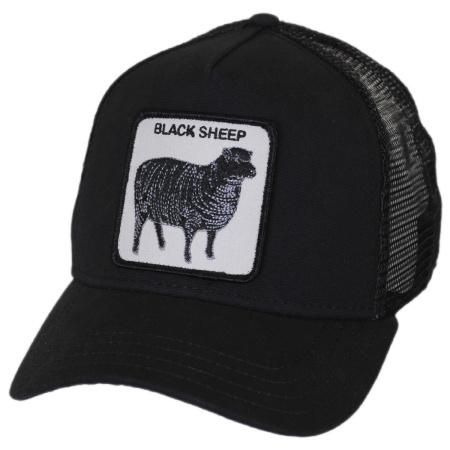 Goorin Bros Black Sheep Mesh Trucker Snapback Baseball Cap