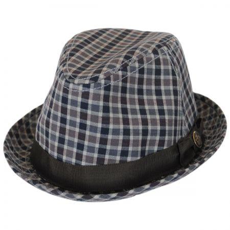 Goorin Bros Union Park Cotton Trilby Fedora Hat