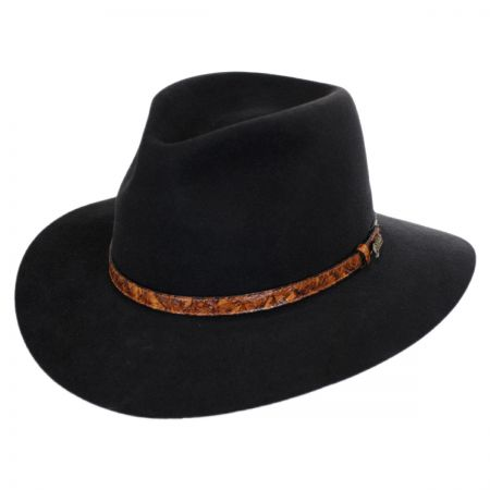 Banjo Patterson Fur Felt Aussie Hat alternate view 1