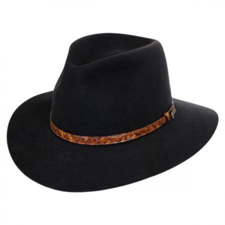 Akubra Banjo Patterson Fur Felt Aussie Hat