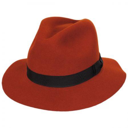 Hunter Wool LiteFelt Fedora Hat