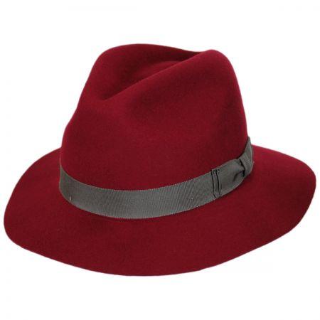 Pantropic Hunter Wool LiteFelt Fedora Hat