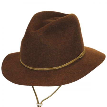 Skylar Wool LiteFelt Chincord Safari Fedora Hat alternate view 21