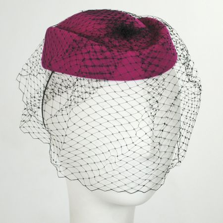Callanan Hats Veil Pillbox Hat