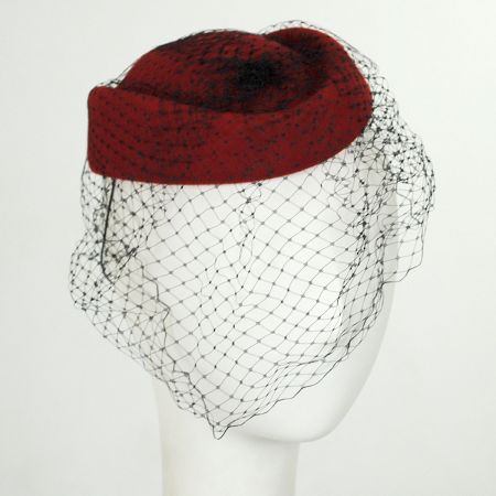 Veil Pillbox Hat alternate view 4