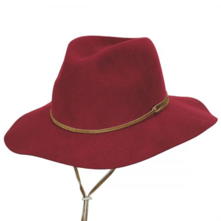 Logan Wool LiteFelt Aussie Fedora Hat alternate view 19