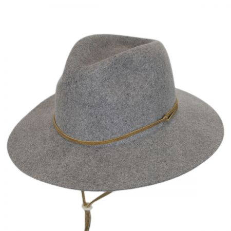 Logan Wool LiteFelt Aussie Fedora Hat alternate view 5