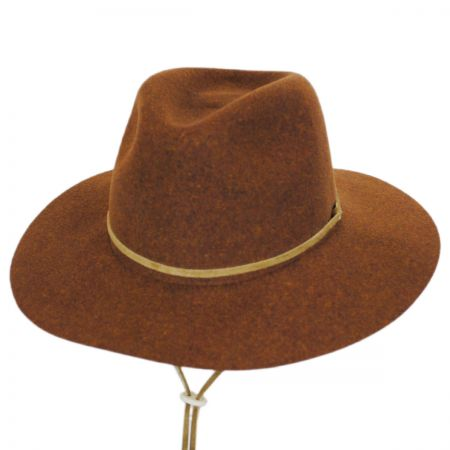 Logan Wool LiteFelt Aussie Fedora Hat alternate view 7